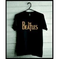 Kaos Custom Tshirt Baju Combed 30S The Beatles Band Kode 02 Jersey