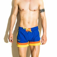 [PROMO] SEOBEAN Splicing Color Sports Leisure Beach Board Shorts