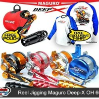 Reel Jigging OH Maguro Deep-X OH size 600W BEST SELLER