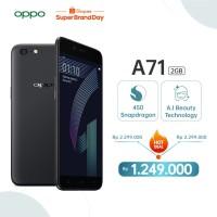 OPPO A71 2018 Smartphone 2GB+16GB - black