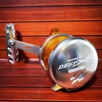 Reel Jigging OH Maguro Deep X 600NL Silver BEST SELLER