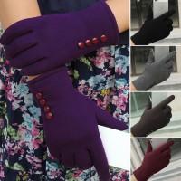 Sarung Tangan Wanita Touch Screen Hangat untuk Musim Dingin / Ski