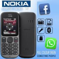 NOKIA FACEBOOK & WHATSAPP 101 DUAL SIM MP3 MEMORI