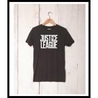 Kaos Custom Tshirt Baju Combed 30S Justice League Superman Batman