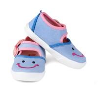Sepatu Anak perempuan Umur 1 2 Tahun Murah denim berkualitas