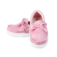 Sepatu Anak perempuan Umur 1 2 Tahun Murah denim berkualitas pink