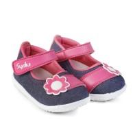 C18 sepatu anak bayi perempuan bahan sol lembut model 1 2 3 tahun cit