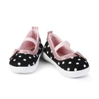 C01 Sepatu Anak perempuan Umur 1 2 Tahun Murah polkadot casual lembut