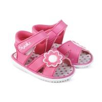 LS19 sepatu anak bayi perempuan terbaru nyaman model sandal bunyi cit