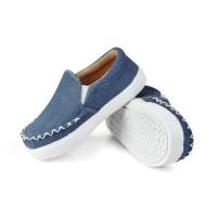 Sepatu Anak COWO Umur 1 2 Tahun Murah denim berkualitas. N01