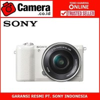Sony Alpha A5100 Kit 16-50mm - White +FREE / Sony A5100 mirrorless