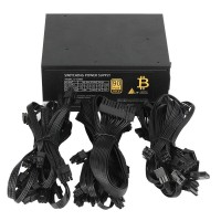 1600W Modular Mining Supply GPU untuk Bitcoin Miner Eth Rig S7 S9 l3