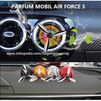 Parfum Mobil LED Turbo Spinning Car Air Freshener Car Vent Fragrance