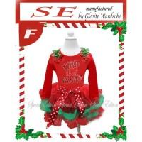 Dress Tutu anak Perempuan Natal (080802)