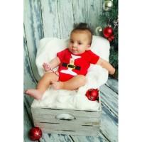Romper Baby Santa Merah (040277)