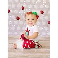 Romper Gift 3in1 Merah (040279)