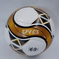 Bola Soccer Specs Firestream FB Ball White Gold 904072 Original BNWT