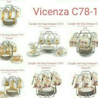 Cup and Saucer / Cangkir Tatakan Vicenza C78-1