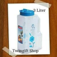 Botol air minum kulkas Jumbo Lion Star, 3 liter.(KHUSUS GOJEK).
