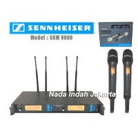 Mic Wireless SENNHEISER SKM 9000 ( bisa ubah frekuensi multi channel )