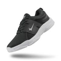 Sepatu Eagle Santiago Hitam Putih – Lifestyle Shoes