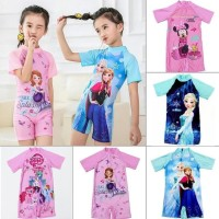 Baju Renang Anak Perempuan Cewek Pakaian Renang Swimsuit Swimwear