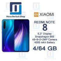 Xiaomi Redmi Note 8 4/64 RAM 4GB ROM 64GB Garansi Resmi TAM