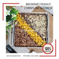 [LAZIZ] Brownies Panggang Cokelat Mix 3 Toping Special