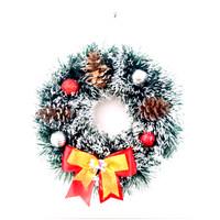 Hiasan Krans Natal untuk Pintu / Dinding 28cm