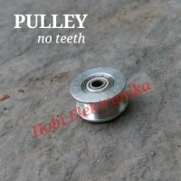 Idler Pulley with Bearing GT2 bore 3mm tanpa gigi no teeth