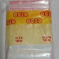 kantong plastik klip uk 10x15 cm plastik zipper lock plastik obat