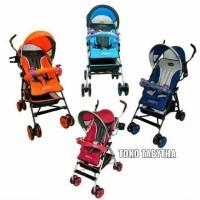 Kereta Bayi Murah Pliko Adventure 108 Buggy Baby Lipat Payung Original