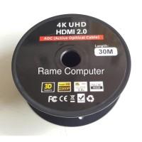 KABEL HDMI 2.0 4K UHD HDMI ACTIVE OPTICAL CABEL 30M - 40M - 50M - 60M