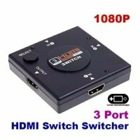 3 Port Ports HDMI Switcher Switch 3in1 3 Output 1 Input