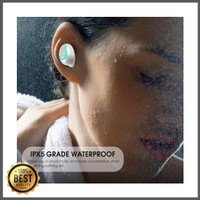 Headset Single Ear Stereo q32 Wireless Bluetooth V4.1 Dengan Charger