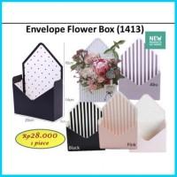 ENVELOPE FLOWER BOX 1413 BARANG BUNGA AMPLOP FLORIST POT VAS