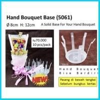 handbouquet base ecer membuat buket bunga florist barang berdiri bisa