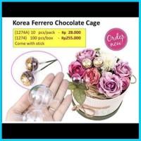 Korea Ferrero Chocolate Cage Ferero Florist Tempat Ball Barang Coklat