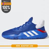 Sepatu Basket Adidas Pro Bounce 2019 Low Jayhawks Original G26181