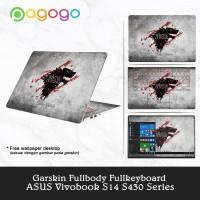 Garskin Laptop Sticker Laptop Asus S430U S430UA S430UF S430UN Fullbody