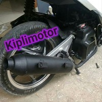 DISKONGILA Knalpot Racing bobokan model standar Vario 125 ISS lim