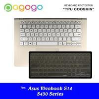 Protektor Keyboard Protector Asus S430U S430UA S430UF S430UN Cooskin
