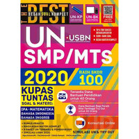 Kumpulan Soal SMP Buku The Best Bedah Soal Komplet UN+USBN SMP/MTs