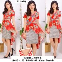 Dress Batik Pesta / Dress Pesta Murah