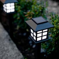 009 Lampu Taman Anti Nyamuk LED solar