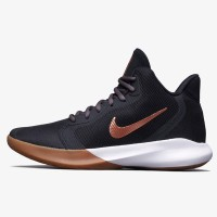 Sepatu Basket Nike Precision 3 Black Metallic Copper Original AQ7495-0