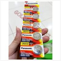 Baterai/Batre/Battery Jam Kancing CR2032/CR 2032 Panasonic Ori Promo