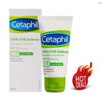 Cetaphil UVA/UVB Defense Cream Wajah Sunblock SPF 50+