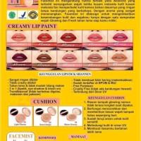 Brosur Shannen Kosmetik // Ukuran A5 Cetak Bolak-Balik