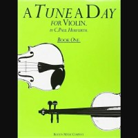 A TUNE A DAY for Violin Book 1 by C. Paul Herfurth Buku Biola